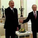 Состоялась двусторонняя встреча Ильхама Алиева и Владимира Путина