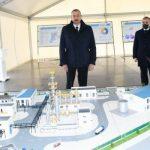 Президент заложил фундамент двух заводов и открыл предприятие в Сумгайыте