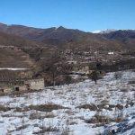 Видеокадры из села Кешдак Кельбаджарского района