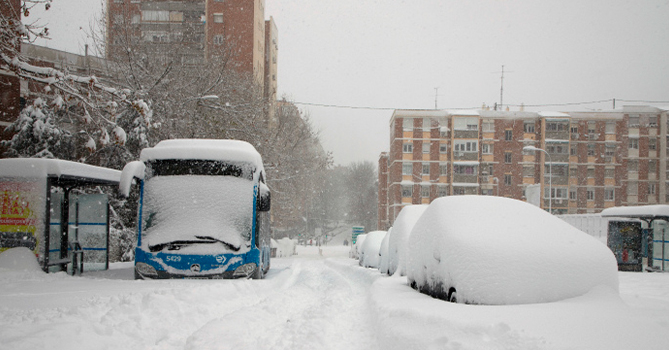Мадрид объявлен «зоной катастрофы»