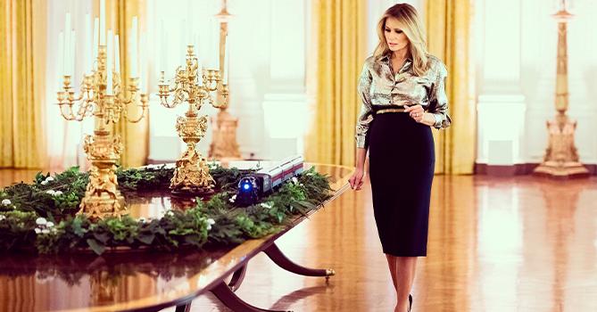 Мелания Трамп считает, что сделала Белый дом красивее