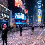Впервые с 1907 в новогоднюю ночь улицы Нью-Йорка были пусты