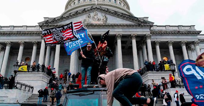 Ультраправых заподозрили в намерении сорвать инаугурацию Байдена