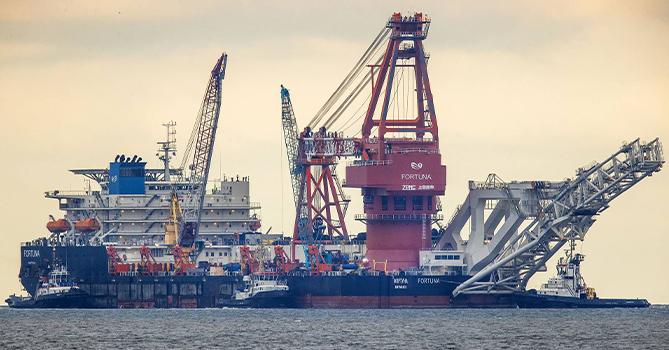 США ввели санкции в отношении трубоукладчика «Фортуна»
