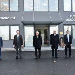 В Товузе открылась футбольная академия