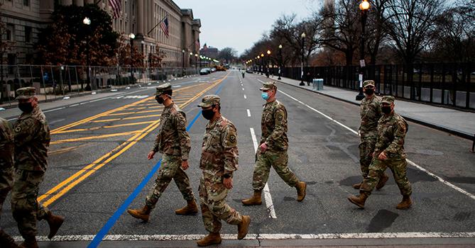 В Вашингтоне накануне инаугурации развернуты подразделения радиационной и химической защиты