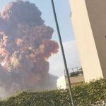 В Ливане при взрыве на складе на границе с Сирией пострадали 10 человек