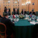 Состоялось заседание трёхсторонней Рабочей группы под совместным председательством вице-премьеров Азербайджана, Армении и России