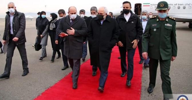 Глава МИД Ирана находится с визитом в Грузии