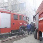 МЧС распространило информацию о пожаре в общежитии для переселенцев
