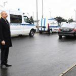 Президент принял участие в открытии нового комплекса административных зданий Генпрокуратуры