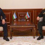 Обсуждены вопросы военного сотрудничества между Азербайджаном и Узбекистаном