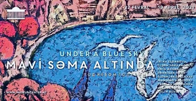 Бакинцев приглашают насладиться искусством «Под небом голубым»