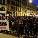 В Барселоне в ходе акции в поддержку осужденного рэпера задержали 13 человек