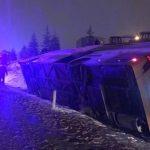 В Турции пять человек погибли и 38 пострадали в ДТП с автобусом