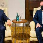 Начался визит Джейхуна Байрамова в Турцию