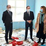 Представители ЮНИСЕФ и МККК побывали в разрушенных армянами школах Гянджи и Тертера