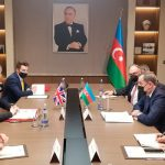 Глава внешнеполитического ведомства Азербайджана принял британского министра