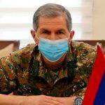 Пашинян уволил главу Генштаба ВС Армении Оника Гаспаряна