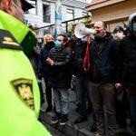 В центре Тбилиси произошли стычки манифестантов с полицией