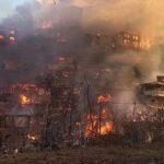 В Турции горит целое село - ВИДЕО