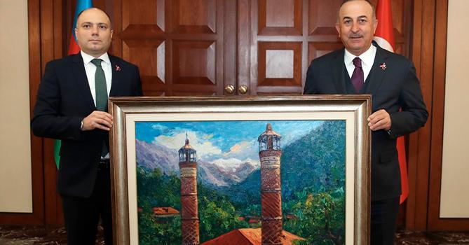 В Анкаре состоялась встреча главы МИД Турции с министром культуры Азербайджана