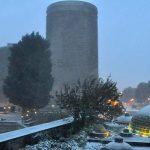 Завтра в Баку прогнозируется снег в сопровождении северо-западного ветра