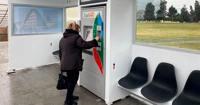 В Баку появилась первая био-смарт остановка