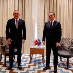 Главы МИД Азербайджана и Турции встретились в Таджикистане