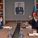 Джейхун Байрамов встретился с руководителем Бакинского офиса Совета Европы