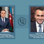 Состоялся телефонный разговор между главами МИД Азербайджана и Италии