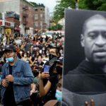 В США сотни человек вышли на акцию перед началом суда по делу об убийстве Джорджа Флойда