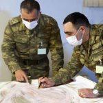 Минобороны Азербайджана: В ходе учений выполняются задачи на картах - ВИДЕО