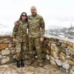 Президент Ильхам Алиев и Первая леди Мехрибан Алиева в Шуше