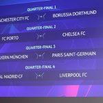 В Ньоне прошла жеребьевка 1/4 и 1/2 финала Лиги чемпионов