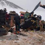 Военный вертолет на востоке Турции разбился из-за плохой погоды
