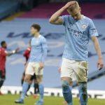 «Манчестер Сити» проиграл в дерби и прервал 15-матчевую победную серию в АПЛ