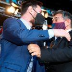 Лапорта хочет предложить Месси пожизенный контракт в «Барсе»