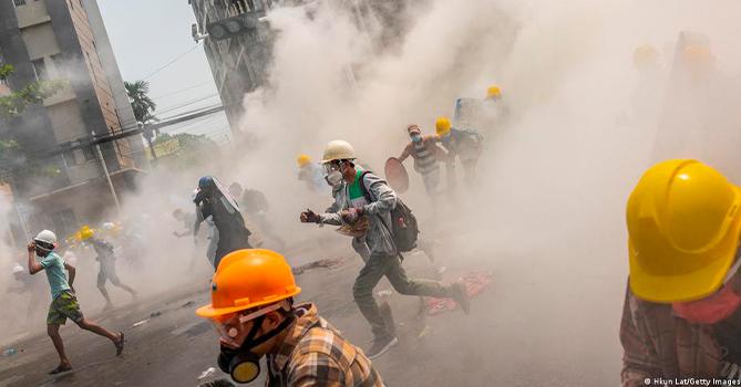 В Мьянме идут ожесточенные бои хунты с населением