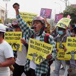 Число убитых во время протестов в Мьянме достигло 80 человек