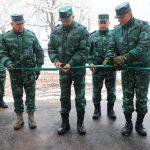 ГПС Азербайджана открыла новую воинскую часть на границе с Арменией