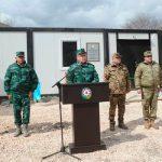 ГПС открыла новую воинскую часть на границе с Арменией