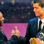 Пеле поздравил Роналду