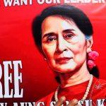 Аун Сан Су Чжи впервые после путча в Мьянме появилась на людях