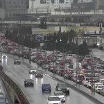 На улицах и проспектах Баку пробки
