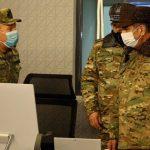 Министр обороны Азербайджана посетил Объединенный командный пункт ВВС