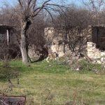 Освобожденное от оккупации село Бешдели Зангиланского района