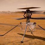 НАСА впервые успешно запустило миниатюрный вертолет на Марсе