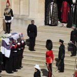 Принц Филип похоронен в часовне Святого Георгия Виндзорского замка