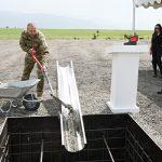 Ильхам Алиев заложил фундамент автодороги Зангилан-Горадиз
